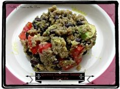 Weight Watchers Summer Quinoa Salad. Only 7 points plus! Filling and easy to make. Great for lunches on the go!