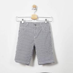 Do you want to make your little star feel comfortable? If yes, visit Fashion Playground and buy blue Bermuda striped shorts for your boys with us! Striped Shorts, Blue Shorts, Patterned Shorts, Bermuda Shorts, Boys Clothes Online, Made Clothing, Boy Blue, Color Stripes, Playground
