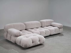 View this item and discover similar for sale at - Four elements of the 'Camaleonda' sofa, in grey velvet Kvadrat Harald 3 upholstery by Mario Bellini for BB Italia, Italy, These four sectional Sofa Design, Interior Design, Le Riad, Home Furniture, Furniture Design, Contemporary Couches, Classic Sofa, Modular Sofa, Sectional Sofa