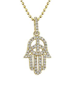 Mystic Light Peaceful Hamsa Necklace  Price: $671.00