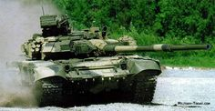 T-90 MBT - The T-90 is the most modern main battle tank currently in service with the Russian Army