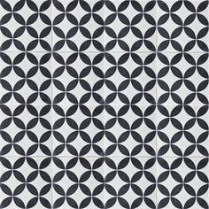 Moroccan & Encaustic Cement Tiles By Jatana Interiors Tile Layout, Encaustic Tile, Bathroom Flooring, Cement, Pattern Design, Tiles, Black And White, Antiques, Interior