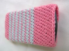 How to Crochet Mobile Cell Phone Pouch for iPhone Samsung - Crochet Ideas Learn To Crochet, Easy Crochet, Crochet Projects, Diy Projects, Crochet Mobile, Cell Phone Pouch, Crochet Gifts, Mobiles, Crochet Designs