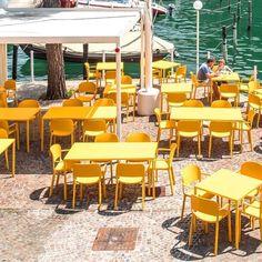 Mobilier pour restaurant chaise de terrasse Dome 260 - Sledge