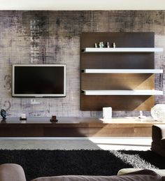Panoramic wallpaper LINES Grunge Collection by N.O.W. Edizioni