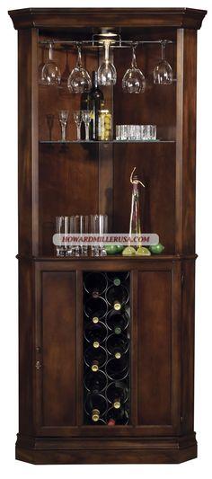 howard miller corner wine cabinet