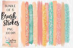 Brush Stroke Png, Brush Strokes, Sublimation Blanks, Desert Sunset, Glitter Wallpaper, Some Text, Texture Design, Design Bundles, Simple Designs
