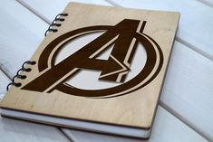 Items similar to Avengers notebook Wood Marvel gifts notepad avengers handmade gift costume wood Avengers art laser engraving personalized notebook on Etsy Star Wars Decor, Star Wars Art, Diy Notebook, Notebook Covers, Marvel Gifts, Diary Covers, Avengers Art, School Accessories, Personalized Notebook