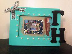 Gamma Eta Tiffany & Co. inspired frame
