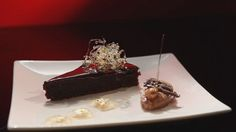 Chocolate Torte, with Mousse and Frangelico Jelly