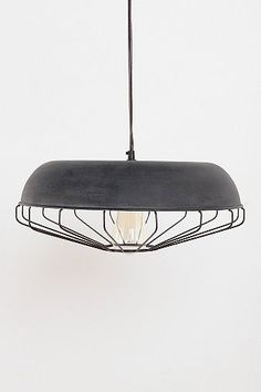 Caged Pendant Light | Urban Outfitters