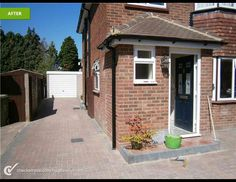 26 Trendy Home Design Front Porch Brick Porch, House Front Porch, Small Front Porches, Front Porch Design, Porch Designs, Porch Extension With Toilet, Porch With Toilet, Small Toilet, Porch With Cloakroom