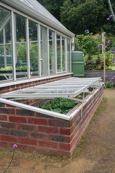 Hartley Botanic cold frames
