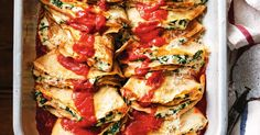 These gluten-free Italian-style crespelle are filled with ricotta, spinach and sundried tomatoes.