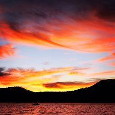 Fiery skies in Mexico. Photo courtesy of jackie_trainor on Instagram.