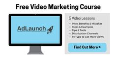 Free Video Marketing Course - Learn How to Use Video to Grow Your Business Online. More here: