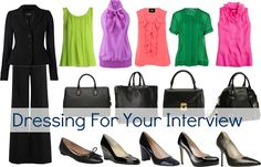 "Some great ideas for personalizing your interview ""uniform"". This site also has great tips for dressing professionally at jobs/internships."