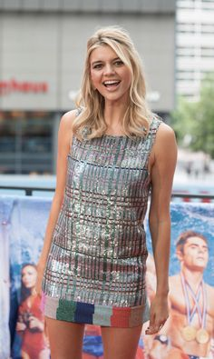 Kelly Rohrbach during a photocall on the occasion of the film 'Baywatch' in Berlin, Tuesday, May 30, 2017.