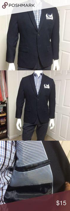 Hagar Navy Blue Blazer sized 42S Hagar Navy Blue Blazer sized 42S Haggar Suits & Blazers Sport Coats & Blazers