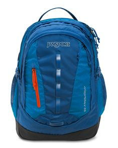 JanSport Odyssey Laptop Backpack (Moroccan Deep / Midnight Sky)