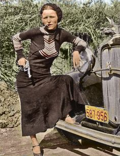 Bonnie Parker an Outlaw of the West. USA