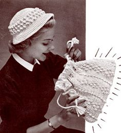Popcorn Hat Bag free crochet pattern