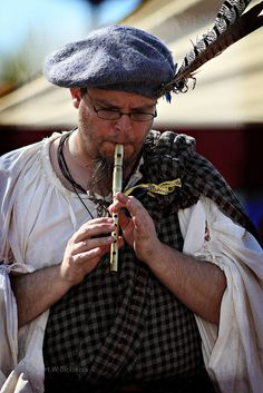 Playin' a Tune at the Renaissance Festival