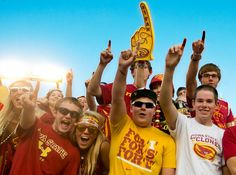 We have the best fans! #CountdowntoKickoff #CycloneFB #CycloneFBCountdown