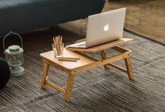Bamboo Notebook Table [Zainus] 11Street #furniture #home #computertable