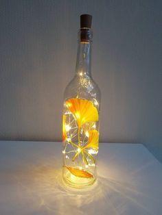 die 39 besten bilder von flaschen deko bottle lights cheap home decor und decorated bottles. Black Bedroom Furniture Sets. Home Design Ideas