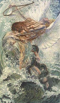 llustration for Baudelaire's Les Fleurs du Mal, Paris: Charles Meunier, 1900