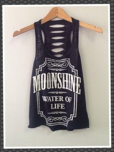 TANK TOP MOONSHINE by CustomTsCorp on Etsy, $19.99