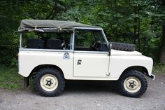 Steve's Land Rover Series III. I've no idea who Steve is, but I want his Landy
