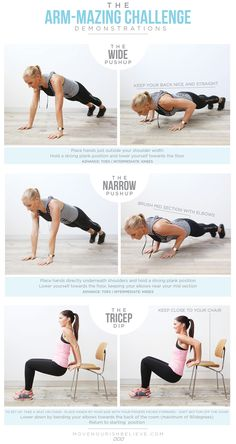 The Best Arm Workout! All from the comfort of your home :) #fitgirlcode #workout #challenge