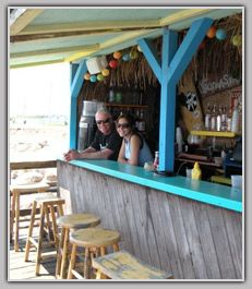 Its just a beach bar but one of my favorite places....   The Ocean Mist, Matunuck, RI