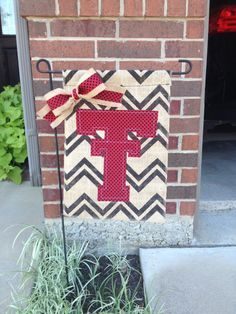 Texas Tech University College Burlap Garden by RKCreativeDesign, $17.00