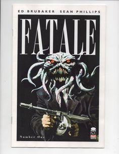 FATALE #1 1ST PRINT BEAST VARIANT Cover B Ed Brubaker Image Comics 2012 VF/NM   #HollywoodComicBooks #Comics #ComicBooks  #Geek #1 #ComicCovers #KeyComics #Fatale #EdBrubaker #Brubaker   #Image  #ImageComics