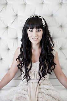 36 Best Wedding Hair With A Fringe Images In 2019 Wedding