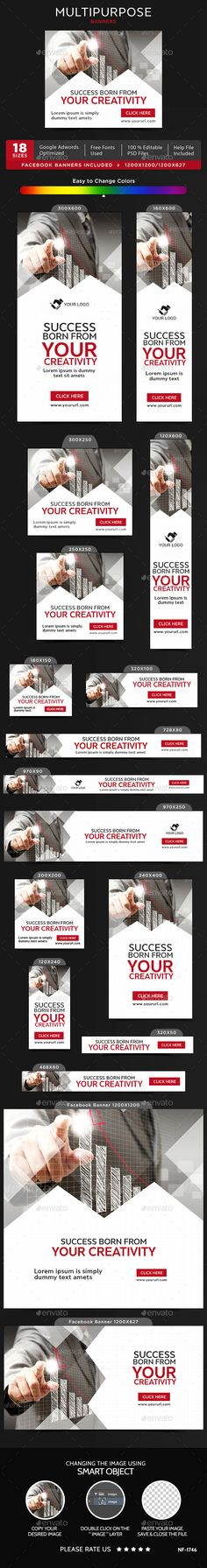 Multipurpose Banners - Banners & Ads Web Elements Download here : https://graphicriver.net/item/multipurpose-banners/19661486?s_rank=39&ref=Al-fatih