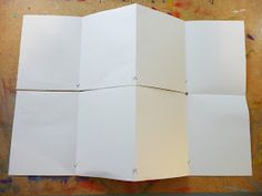 About a month ago I posted some pictures of tunnel books that two Grade 6 classes made. I promised the tutorial and here it is. The tu. Up Book, Book Art, Tunnel Book Tutorial, Book Crafts, Paper Crafts, Images And Words, Art Drawings For Kids, Book Journal, Journal Ideas