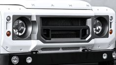 Land Rover Defender X-Lander Front Grille With Headlight Surrounds Accessory by Kahn Design