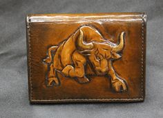Gallery | Leather - Handmade Paper immodestly Leather Carving, Leather Art, Leather Skin, Leather Gifts, Tooled Leather, Leather Tooling, Leather Wallet Pattern, Small Leather Wallet, Leather Bifold Wallet