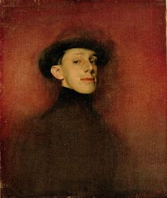 RAMON CASAS / Study from Life for the Portrait of King Alfons XIII / Madrid, 1904 / Oil on canvas