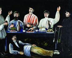 Molokani Carousing - Niko Pirosmani