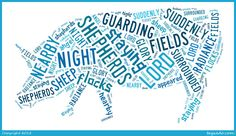 I love the shepherds and their story and wanted to share their simple story . While Shepherds watched their flocks by night . unfortunately Tagxedo only had the word cloud shape of a pig! Imagine it as a sheep please. Word Cloud Shapes, Tagxedo, The Shepherd, Simple Stories, Christmas Images, Flocking, Advent, Sheep, Clouds