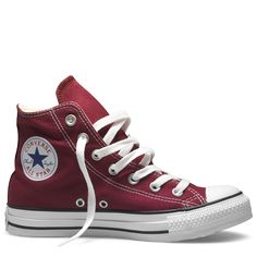 maroon high top chucks