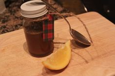 Homemade cough syrup.