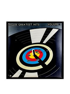 The Eagles: Greatest Hits Vol. II Framed Album Cover