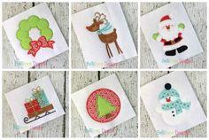 Belliboos Christmas Applique Bundle