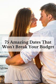 cheap amazing dates